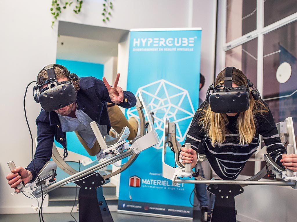 Attractions simulateur drone en réalité virtuelle