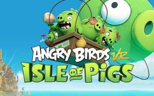 Angry birds réalité virtuelle hypercubevr