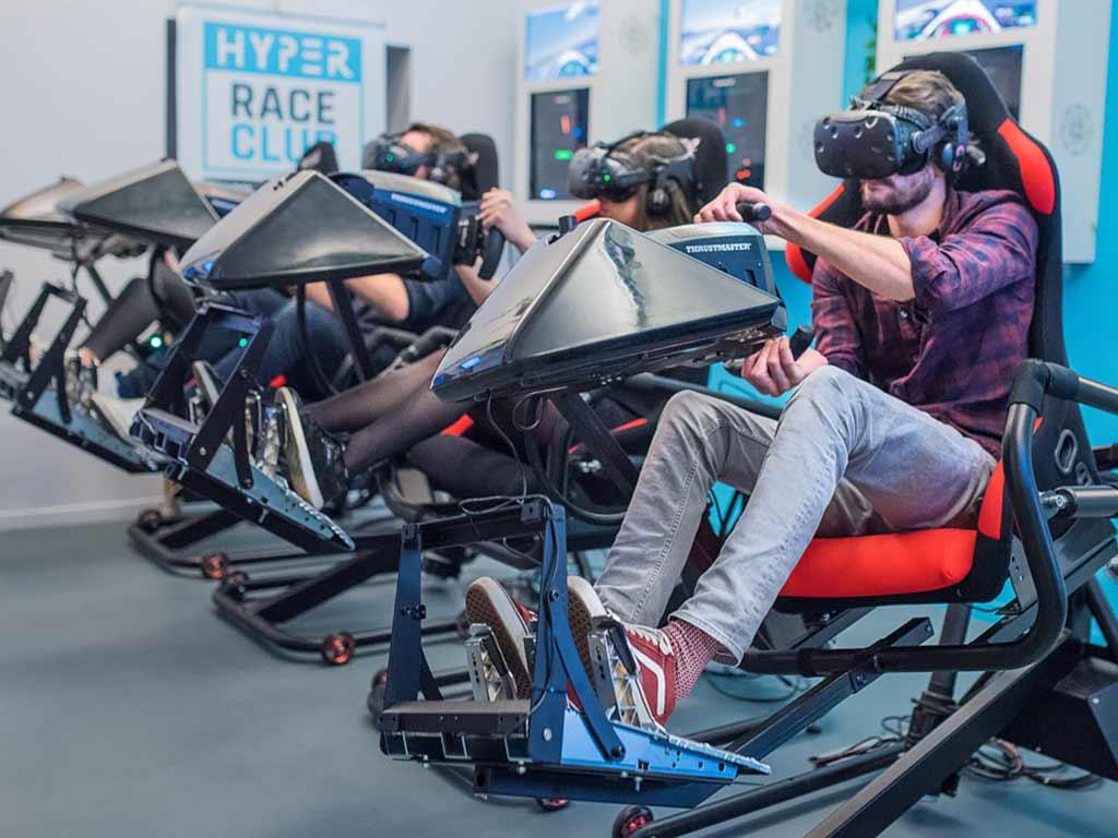 Salle de réalité virtuelle 1