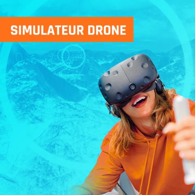 Simulateur drone vr réalité virtuelle