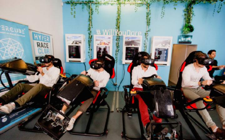 Salle de réalité virtuelle 3